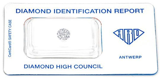 Foto 1, Brilliant 1,01ct HRD feines Weiss G SI2 Brillant Juwel!, D5001