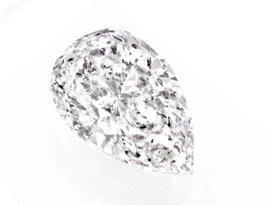 Foto 2, Diamant 0,50ct River Very Light Pink Tropfen IGI Juwel!, D5022