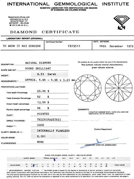 Foto 9 - Diamant 0,51 Carat, IGI Lupenrein River Brillant Juwel!, D5049
