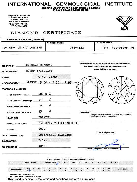 Foto 9 - Best Diamant 0,50 River D Lupenrein IGI Brillant Juwel!, D5050