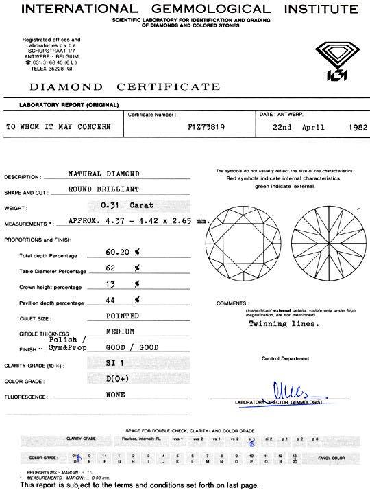 Foto 9 - Diamant 0,31ct Brilliant Beste Farbe River D IGI Juwel!, D5068