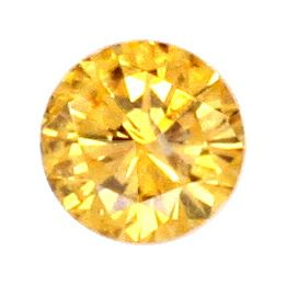 Foto 2, Diamant 0,58ct Natural Fancy Intense Yellow Gold Juwel!, D5073