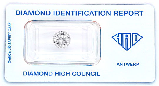 Foto 1 - Brillant 2,45ct River VVS2 mit HRD Zertifikat, VG VG VG, D5093