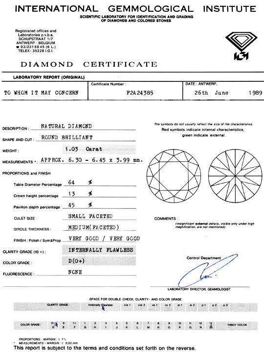 Foto 9 - Bester Einkaräter Diamant Lupenrein River D IGI Diamond, D5107