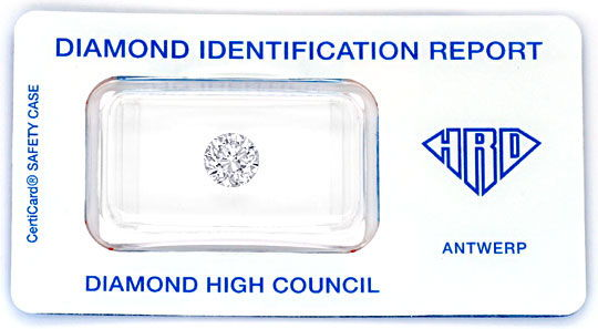 Foto 1 - 1,5 Carat Top Wesselton F Lupenrein Diamant HRD Diamond, D5109
