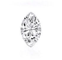 Foto 2 - Navette Diamant 0,30 Carat Top Wesselton VVS IGI Juwel!, D5127