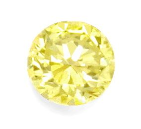 Foto 2, Zitronen Brilliant Fancy Yellow 1,01 ct IGI VVS1 Juwel!, D5149