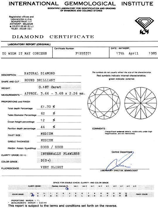 Foto 9 - Der Beste Diamant 0,187 Brilliant IGI Lupenrein River D, D5154