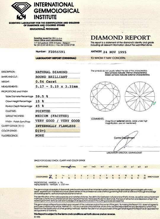 Foto 9 - Der Beste Diamant 0,54ct Brillant IGI Lupenrein River D, D5175