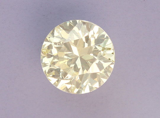 Foto 2, Natural Fancy Light Yellow Diamant 0,37ct Brilliant IGI, D5183