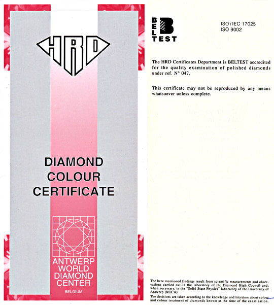 Foto 9 - Herz Diamant 1,01ct Light Brownish Pink !!! HRD Diamond, D5482