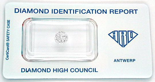 Foto 1 - Diamant, Gutachten HRD!!!, 1.00ct River D, Wert Diamond, D5585