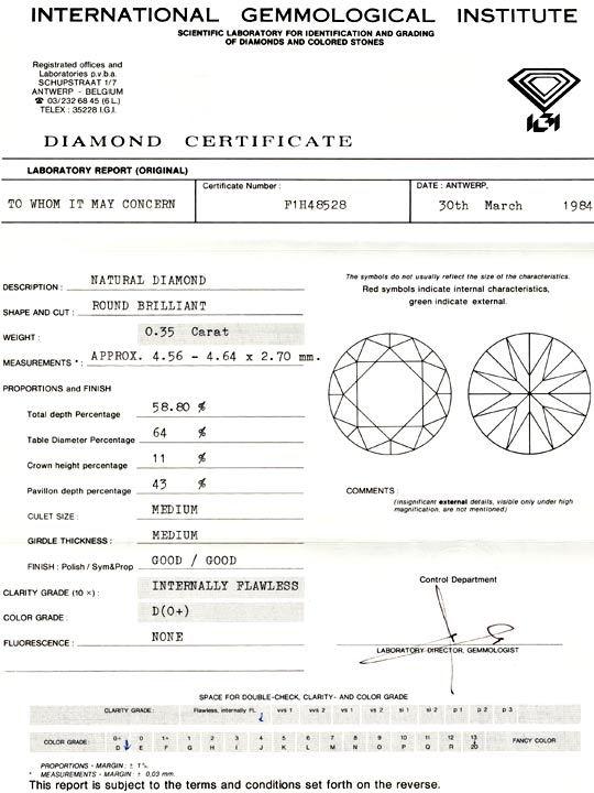 Foto 9, 0,35ct Diamant, Zertifikat IGI Lupenrein River-D Juwel!, D5639