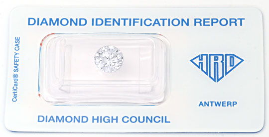 Foto 1 - Diamant, HRD, 2.141 Carat Brillant, River, SI1, Diamond, D5646