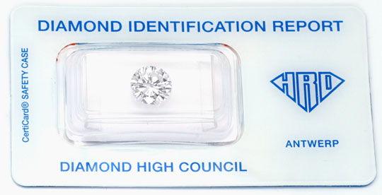 Foto 1, 2,105ct Diamant, HRD, Top Wesselton Plus F, VS1 Diamond, D5688