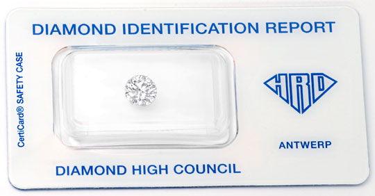 Foto 1, Der Beste Einkaräter HRD Brillant 1,09 River LC Diamond, D5730