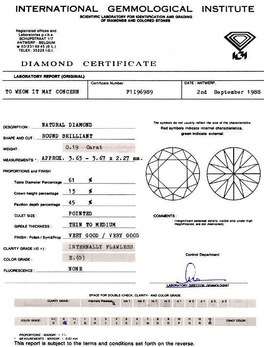 Foto 9, Diamant IGI 0,19ct Brillant Lupenrein River VGVG Juwel!, D5760