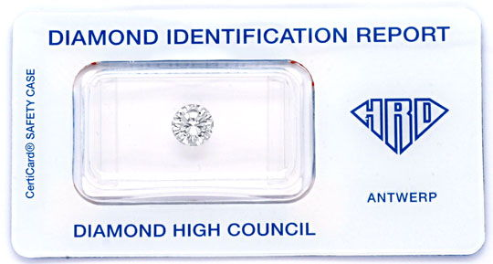 Foto 1, Diamant 1,06ct HRD Top Wesselton Plus VS1 VG/VG Diamond, D5775