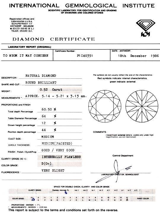 Foto 9, Der Beste Diamant 0,52ct IGI, Lupenrein River D, Juwel!, D5794