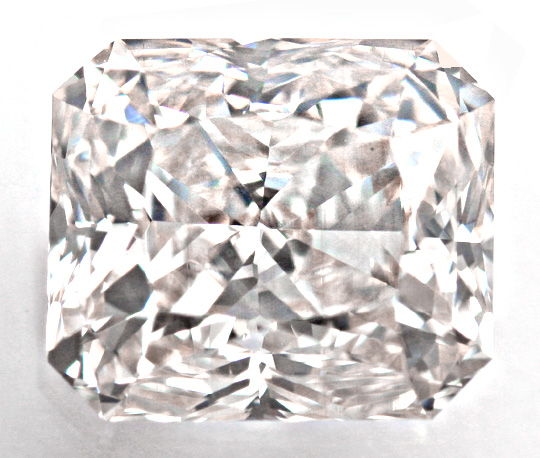 Foto 3, Diamant 0,907 Radiant Weiss-Rosa-Petrol VS1, HRD Juwel!, D5801