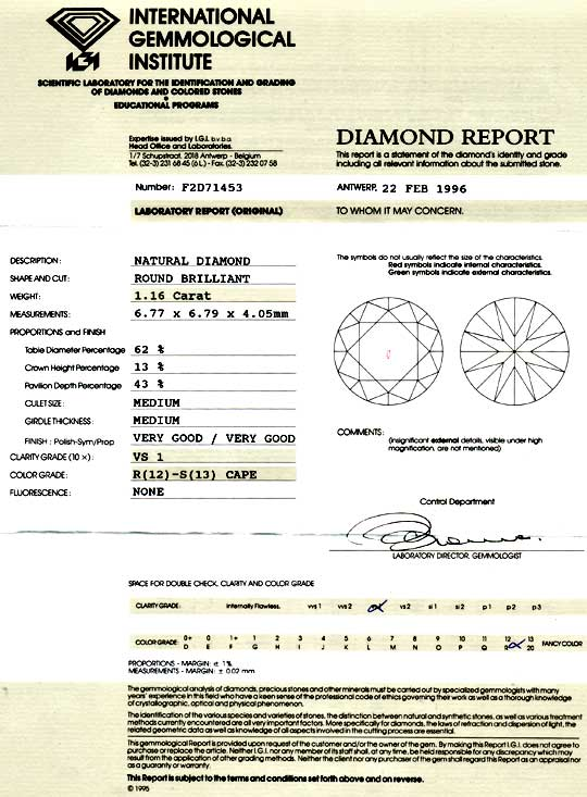 Foto 9 - Diamant 1,16ct Brillant, IGI VS1, Super Brillanz Juwel!, D5824