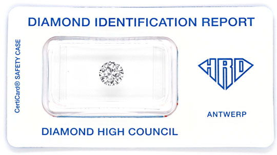 Foto 1 - Diamant 1,027Carat Brillant HRD Wesselton H VS1 Diamond, D5846
