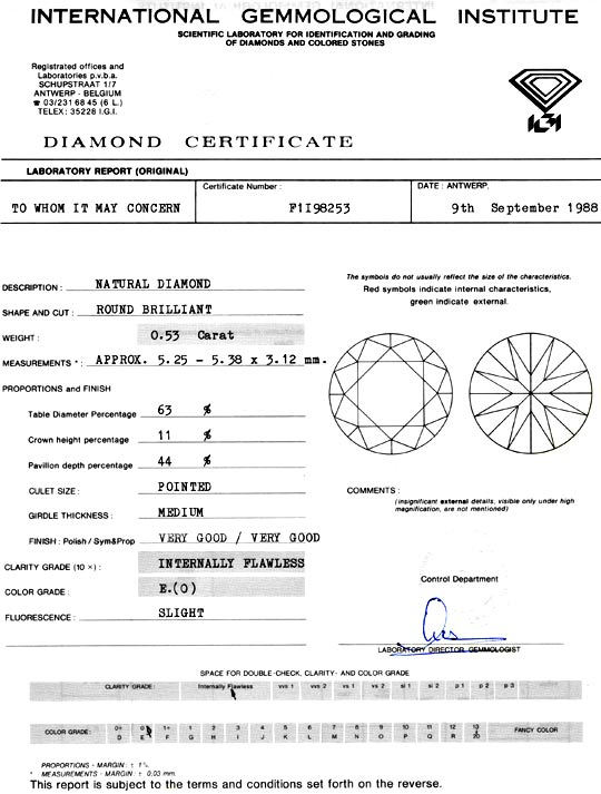 Foto 9, Diamant 0,53ct Brillant IGI Lupenrein River VGVG Juwel!, D5932