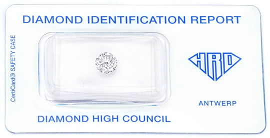Foto 1, 0,98ct Brillant, HRD Diamant Top Wesselton VVS1 Diamond, D5943