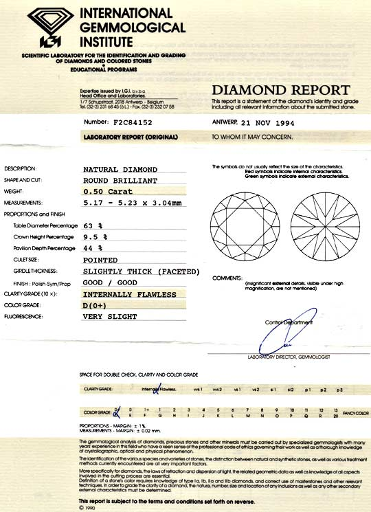 Foto 9, Der Beste Diamant 0,50ct IGI, Lupenrein, River D Juwel!, D5958