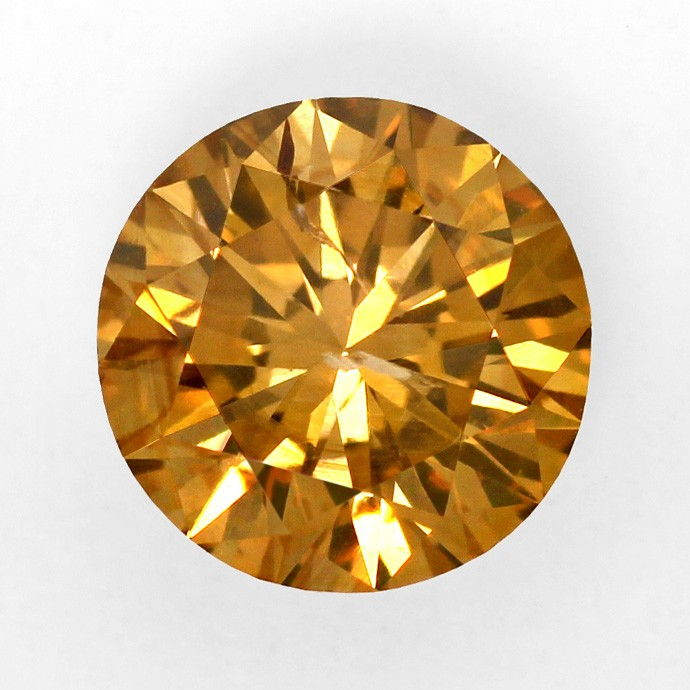 Foto 2, 1,61ct Natural Fancy Intense Brownish Orange Cognac IGI, D5964