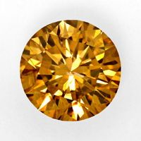 zum Artikel 1,61ct Natural Fancy Intense Brownish Orange Cognac IGI, D5964