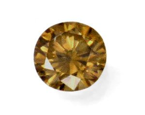 Foto 2, Brillant 1,03ct Natural Dark Yellowish Brown IGI Juwel!, D5985