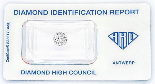 Foto 1, Diamant 1,18ct Brillant HRD River Hochfeines Weiss VVS1, D6024