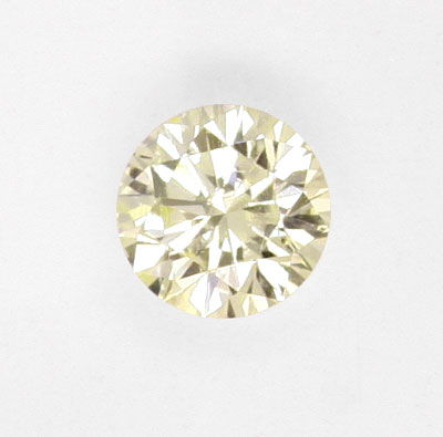 Foto 2, Brillant 1,06ct Lupenreiner Yellow Zitronen Diamant IGI, D6036