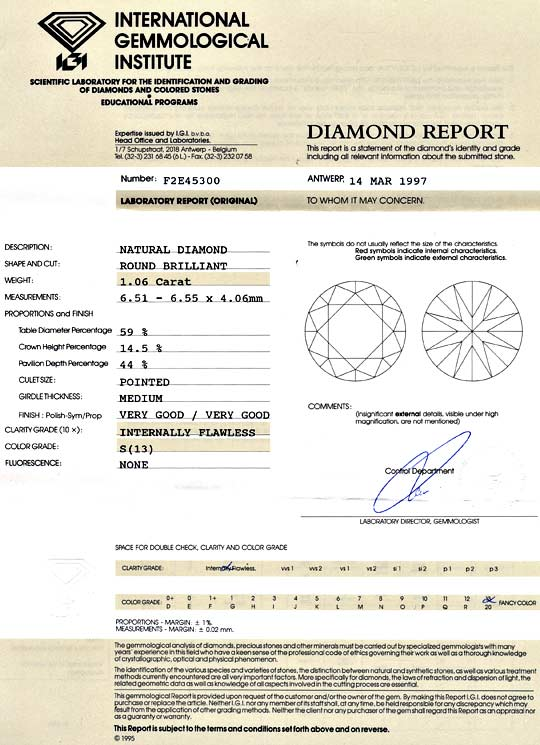 Foto 9, Brillant 1,06ct Lupenreiner Yellow Zitronen Diamant IGI, D6036