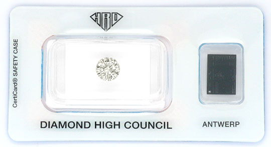 Foto 1, Diamant 1,16 Carat Brillant HRD Lupenrein Optisch Weiss, D6057