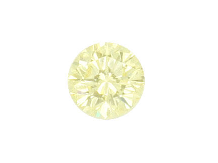 Foto 2, Natural Yellow Diamant 1,0ct Brilliant Zitrone VVS1 HRD, D6059