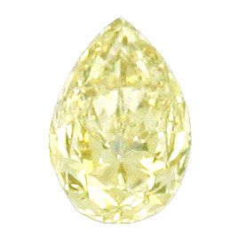 Foto 2 - 1,04 ct Natural Greyish Yellow Tropfen Diamant VS2  HRD, D6109