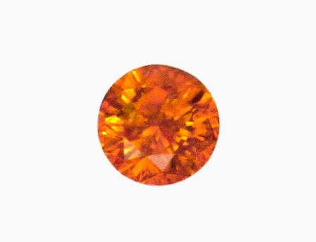 Foto 2 - Natural Fancy Intense Yellowish Orange Diamant 1,01 HRD, D6186