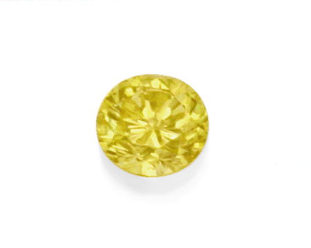 Foto 2, Natural Fancy Yellow Dunkel Gold Diamant 1,50 Carat IGI, D6187