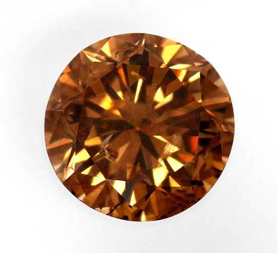 Foto 2 - Natural Fancy Intense Orangy Brown 1,17 ct Brillant HRD, D6189