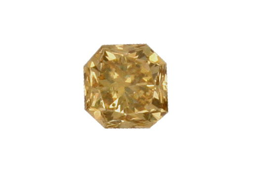 Foto 2, Fancy Dark Yellowish Brown Square Brilliant 1,18 ct IGI, D6190
