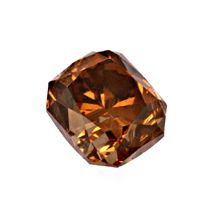 zum Artikel Natural Fancy Deep Orange Brown 1,23ct Rectangular, IGI, D6201