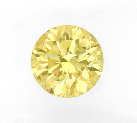 Foto 2, Super Honig Gold Farbe Fancy Brownish Yellow 1,02ct IGI, D6205