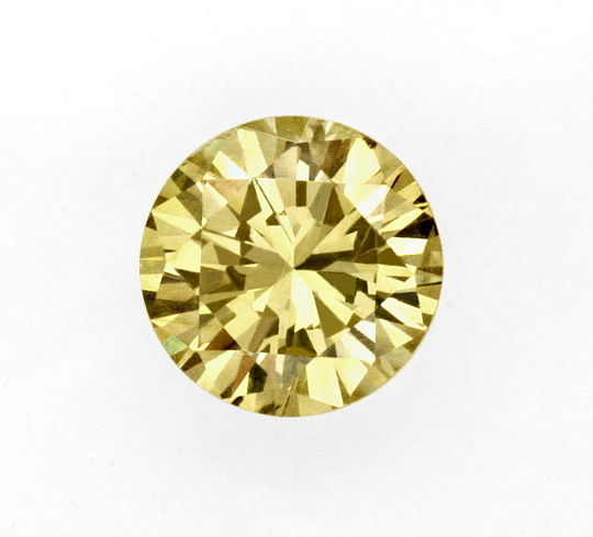 Foto 2, 1A Brillianz Honig Yellowish Bronw 1,01ct Brilliant IGI, D6206