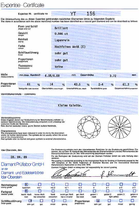 Foto 9, 0,846 ct BRILLIANT DPL LUPENREIN RIVER HOCHFEINES WEISS, D6229