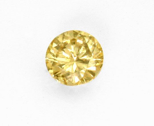 Foto 2 - Diamant 1,00 ct Brillant Natural Color Brown Yellow IGI, D6359