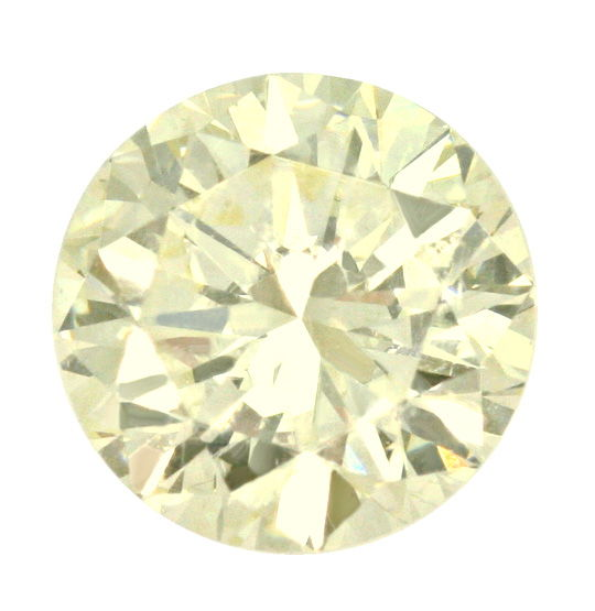 Foto 2, Diamant 2,01ct Lupenrein, Zitrone Hell Light Yellow IGI, D6419