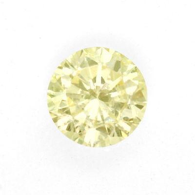 Foto 2, Diamant 0,81 Brillant Lupenrein Yellow Zitrone Hell IGI, D6422