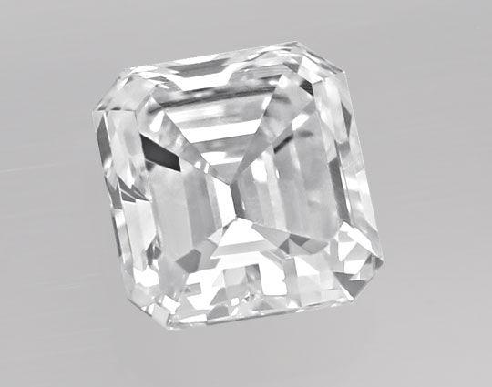 Foto 2, Diamant 0,40 Carat Emerald Cut River VVS1 IGI Expertise, D6443